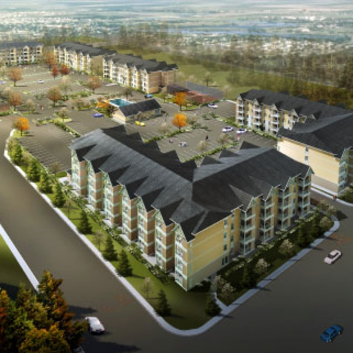 Sky Harbour Multi-Family Housing Apartment Development - Harbour Landing, Regina, SK